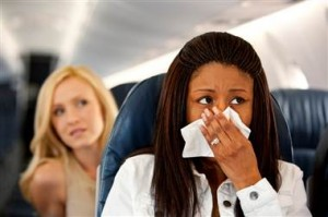 Sneezing Passenger